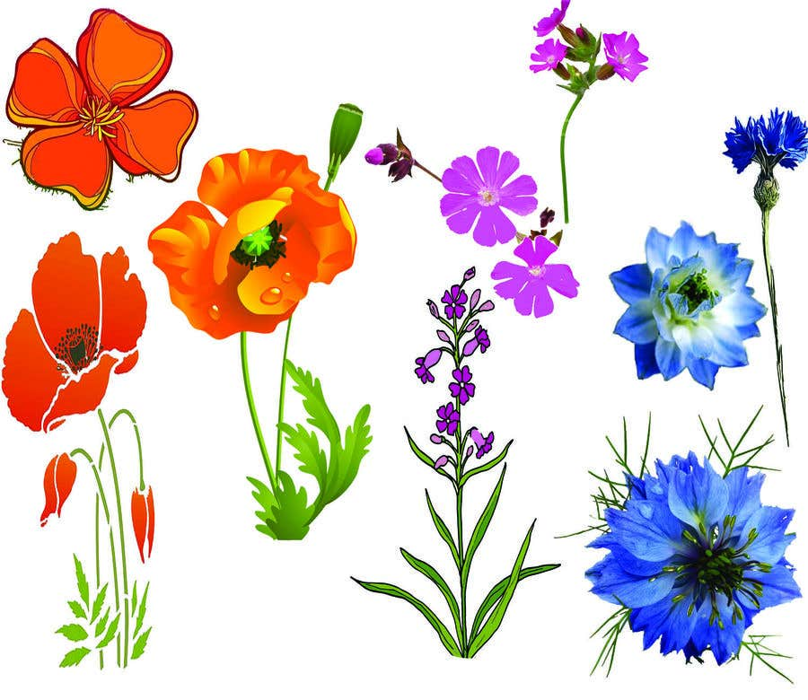Contest Entry #                                        70                                      for                                         Vector Flower Icons