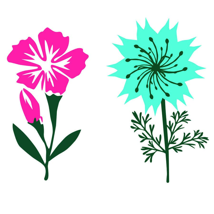 Contest Entry #                                        38                                      for                                         Vector Flower Icons