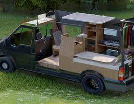 #2 untuk Interior design (Artist impression) for a Car (Van) oleh isnat