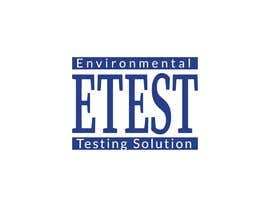 "#55 cho See attached flyer. I need a modern looking logo for our new company ""ETest, Inc."" Please add as part of logo,""Environmental Testing Solutions"". bởi mahfuz45"