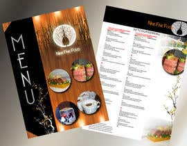 nº 27 pour Design a Restaurant Menu for Modern Japanese Restaurant par ideafuturot