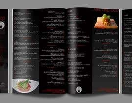 #33 for Design a Restaurant Menu for Modern Japanese Restaurant by sandrasreckovic