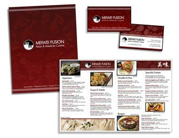 #41 for Design a Restaurant Menu for Modern Japanese Restaurant af Nihadricci