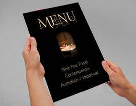 #42 for Design a Restaurant Menu for Modern Japanese Restaurant by agencja