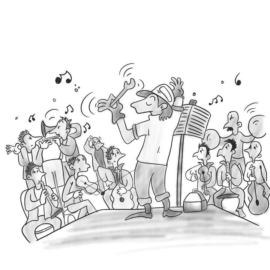 Bài tham dự cuộc thi #                                        7                                      cho                                         Series of Three Cartoons for Business to Business Marketing