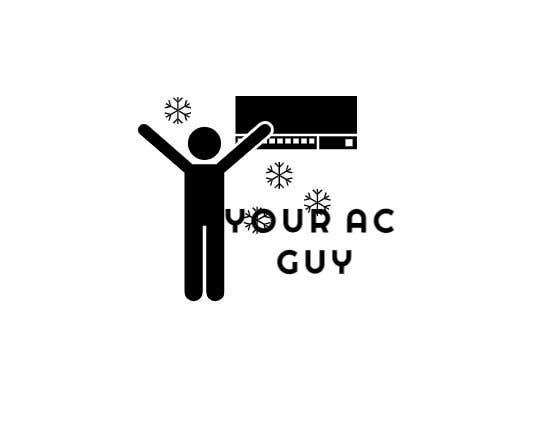 Bài tham dự cuộc thi #                                        236                                      cho                                         Air conditioner company logo (Your AC GUY)