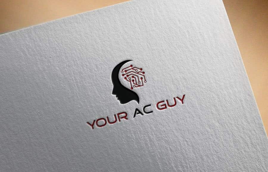 Bài tham dự cuộc thi #                                        222                                      cho                                         Air conditioner company logo (Your AC GUY)