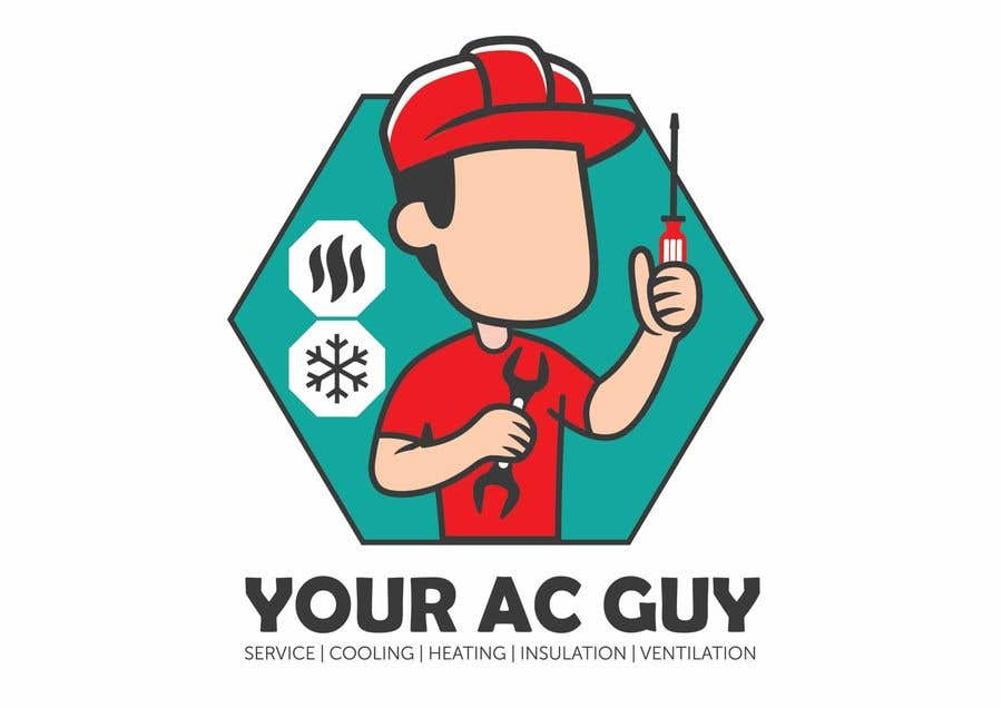 Bài tham dự cuộc thi #                                        233                                      cho                                         Air conditioner company logo (Your AC GUY)