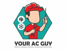 #233 cho Air conditioner company logo (Your AC GUY) bởi anthonyallred
