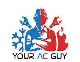 #235 cho Air conditioner company logo (Your AC GUY) bởi anthonyallred