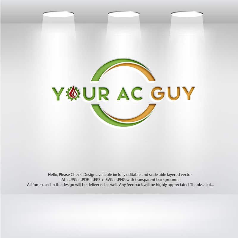 Bài tham dự cuộc thi #                                        162                                      cho                                         Air conditioner company logo (Your AC GUY)