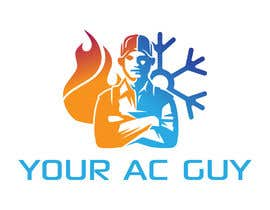 #237 cho Air conditioner company logo (Your AC GUY) bởi abdullahfuad802