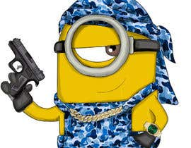 viviguerrero6 tarafından Draw me a Minion with exaggerated swagger for online community için no 28