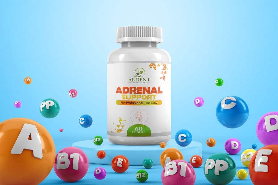 Penyertaan Peraduan #                                        29                                      untuk                                         Supplement Bottle Design (front)