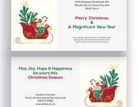 naimaqf tarafından We need a pretty decent DLE size Christmas Greeting card & have attached the information ( same info ) but needed a very stylish design ( cool one ) , we would like to award other micro projects based on this contest winner. için no 18