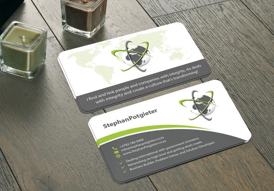 Penyertaan Peraduan #12 untuk Business card, letterhead, document folder -- 2