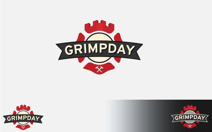 Konkurrenceindlæg #                                        15                                      for                                         Logo for the Grimpday an firemen organisation