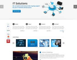 #3 para Website Design for IT Company por gerardway