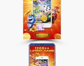 #52 for Gaming app promo banner design af abulkalamjr9
