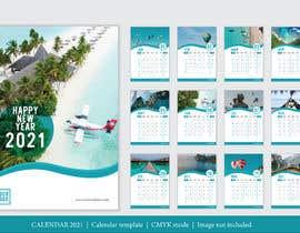 #8 for create a 2021 calendar for print by Ihcreative