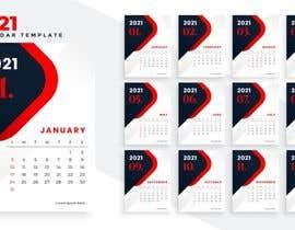 #14 for create a 2021 calendar for print by hassanshafiq510