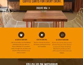 #8 para Design a Website Mockup for a Mobile Coffee Business por vincentfeeney