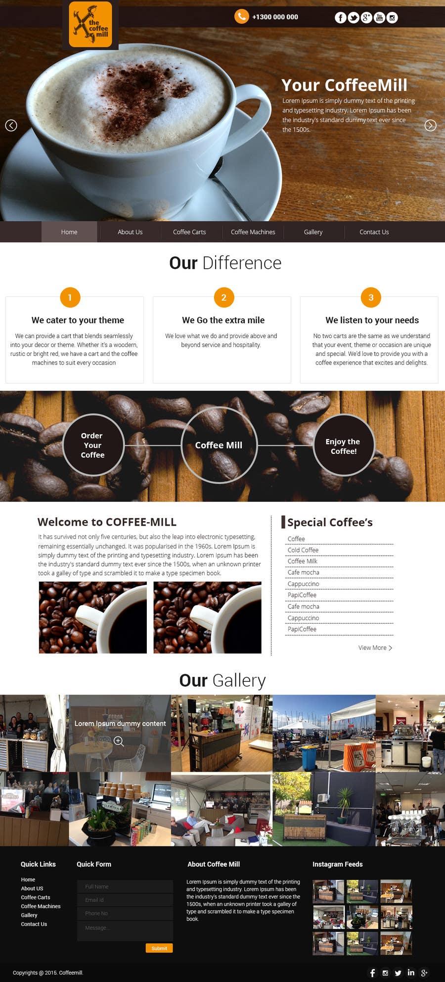 Konkurrenceindlæg #                                        18                                      for                                         Design a Website Mockup for a Mobile Coffee Business