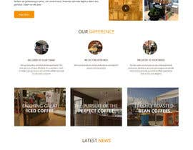 #29 para Design a Website Mockup for a Mobile Coffee Business de syrwebdevelopmen