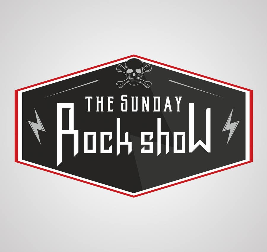 Contest Entry #47 for Design a Logo for The Sunday Rock Show