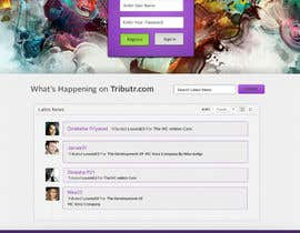 #9 for Website Layout and Design for New Mega-Platform: Tributr by Bkreative