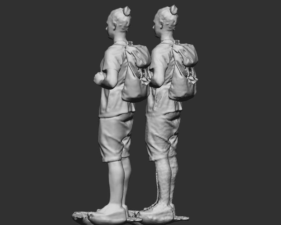 Konkurrenceindlæg #                                        9                                      for                                         Do some 3D Modelling for retouch