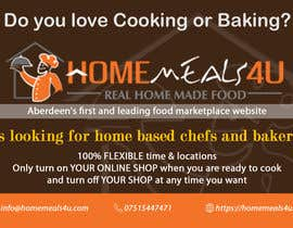 #6 for Design a Flyer for HomeMeals4u by tlacandalo