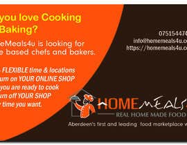 #10 for Design a Flyer for HomeMeals4u by tlacandalo