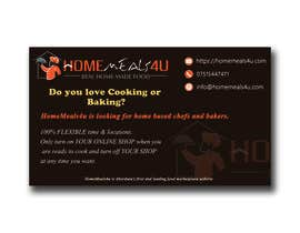 #2 para Design a Flyer for HomeMeals4u de maheshconcor