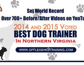 #80 za Design a Banner for Dog Training Business od Technolinks