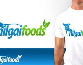 nº 321 pour Logo Design for Nilgai Foods par pinky