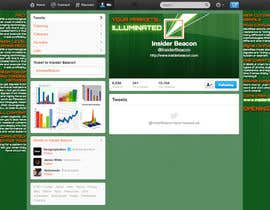 #7 for Twitter Background Design for Financial/Stocks/Trading Tool Website af Utnapistin