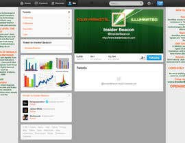 nº 22 pour Twitter Background Design for Financial/Stocks/Trading Tool Website par Utnapistin