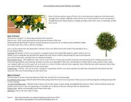 #23 untuk Do some Research on a list of Gardening and Tree Pruning topics for Australian conditions oleh kvd05