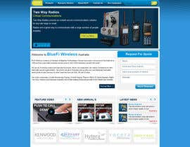 #3 para Website CONCEPT Design BluFi Wireless USA por kosmografic