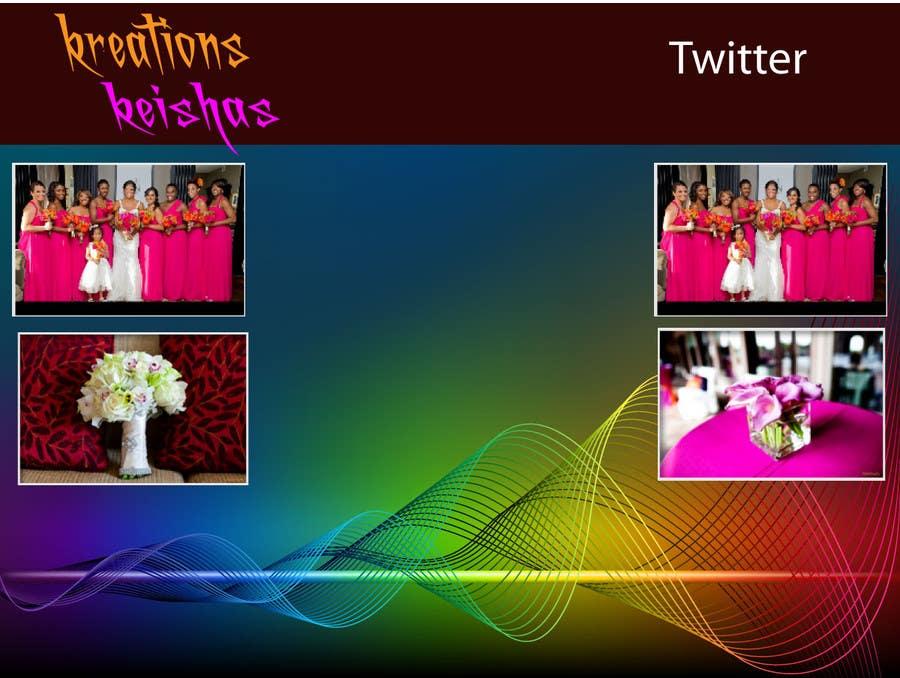 Kilpailutyö #11 kilpailussa Graphic Design for Twitter Background