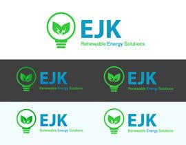 #25 untuk Deign a Logo and Business Card for EJK Renewable Energy Solutions oleh JulienNguyen