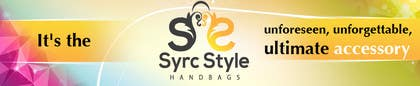 nº 23 pour Logo and Website Banner Design for a Handbag Website par creativeartist06
