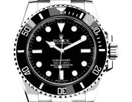 deziner14 tarafından Need to raw illustration of a Rolex watch için no 3