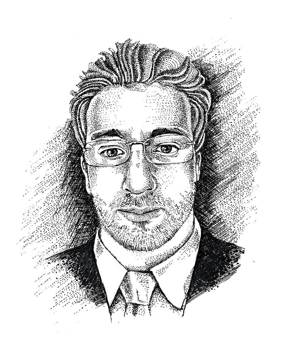 Konkurrenceindlæg #15 for Create a Stipple Portrait / Wall Street Journal Style Portrait