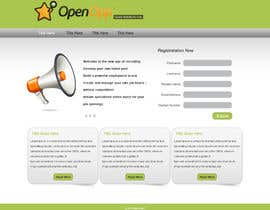 #2 para Website Design for OpenOpp.com - 2 pages only - Any format por gravitygraphics7