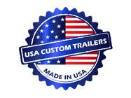 Graphic Design Contest Entry #3 for USA Custom Trailers