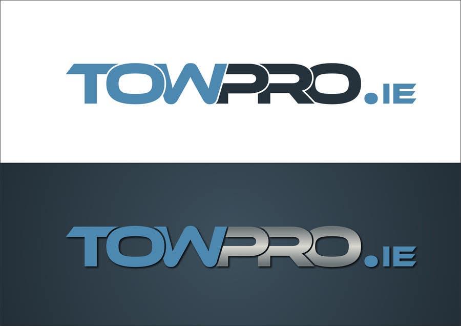 Penyertaan Peraduan #5 untuk Design a Logo for Towing company