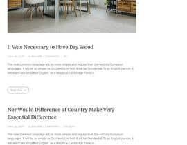 Nro 45 kilpailuun Easy to use WordPress Blog käyttäjältä devendarthapa
