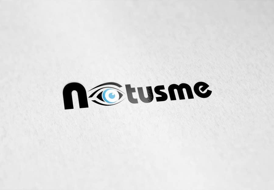 Konkurrenceindlæg #722 for Design a Logo for Notusme Apparel